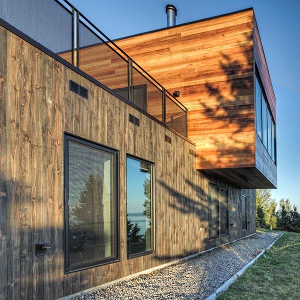 Résidence en bois Malbaie V - MU Architecture