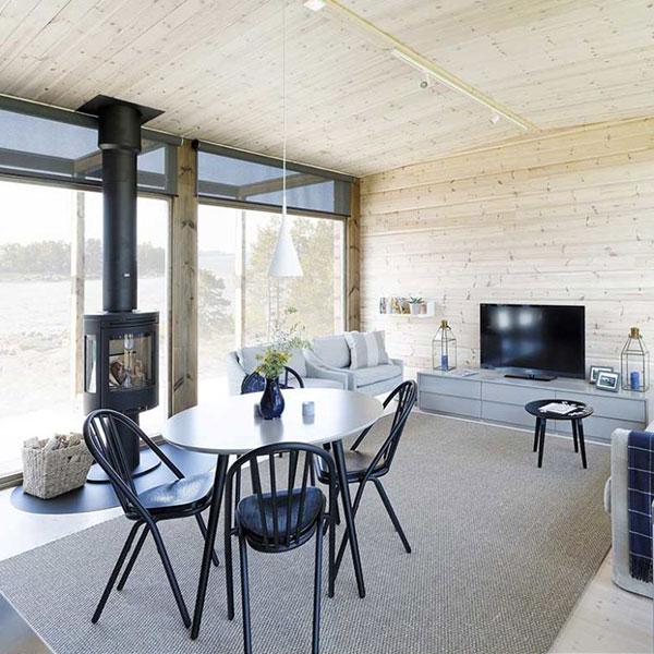 Maison bois Glass House - Kontio
