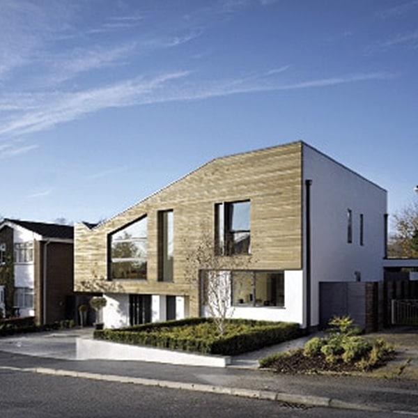 Maison bois atypique rénovée - ISA Studio