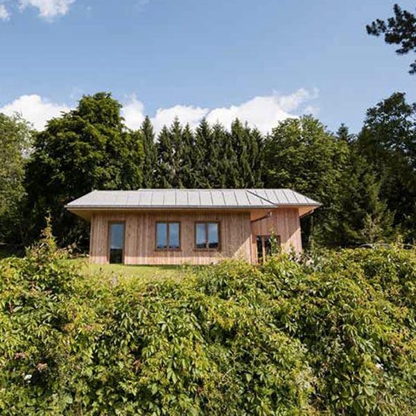 Maison et extension en ossature bois - Manon Kern