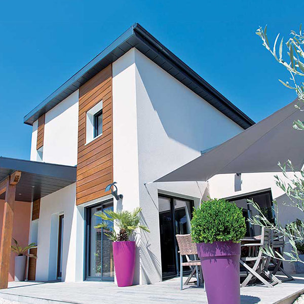 Maison à ossature bois économe - Natilia