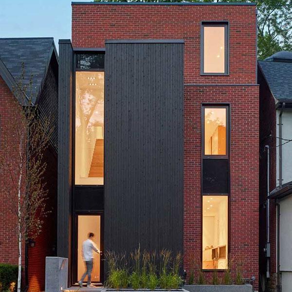 Maison en bois et brique - AKB