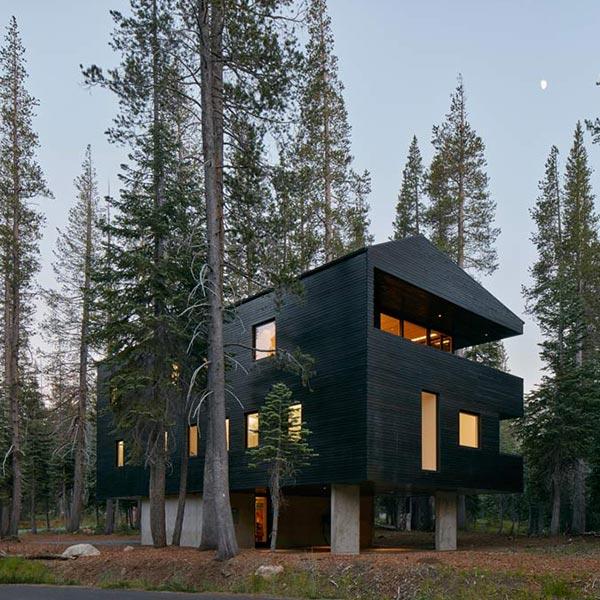 Maison bois Troll Hus - Mork Ulnes Architects