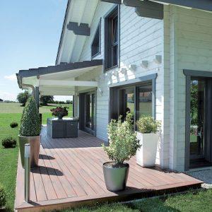 Maison en bois massif sur-mesure - FINN-EST