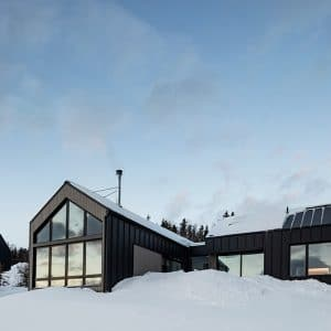 Chalet rectangulaire - Atelier Boom Town