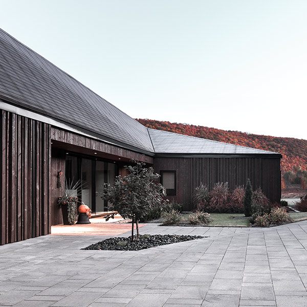 Maison au style Prairie - Chevalier Morales Architecte