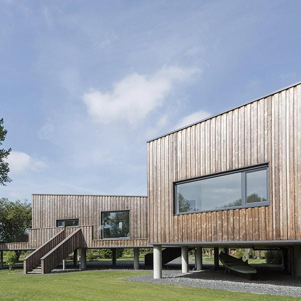 Résidence secondaire en bois - Spratley & Partners